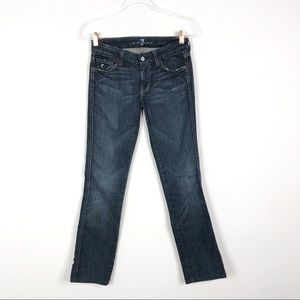 7 For All Mankind The Kate Straight Leg Jeans 25